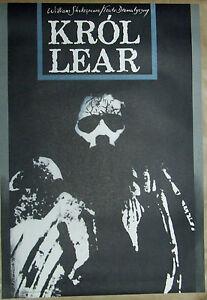 King Lear - Shakespaere - Klimowski - Polish Poster - polska, Polska - King Lear - Shakespaere - Klimowski - Polish Poster - polska, Polska