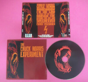 CD-THE-CHUCK-NORRIS-EXPERIMENT-Omonimo-Same-2006-Usa-DDR-36-no-lp-mc-CS56