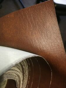 PVC Faux Leather Vinyl Fabric Upholstery Material brown