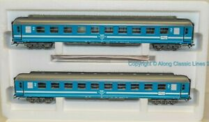 Marklin-42892-Ho-scale-Coach-Set-039-Tegernsee-Bahn-039-in-Blue-and-white-livery