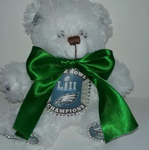 Philadelphia Eagles Super Bowl LII Custom Designed Teddy Bear #2