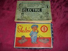 alter Elektro-Baukasten mit Anleitung