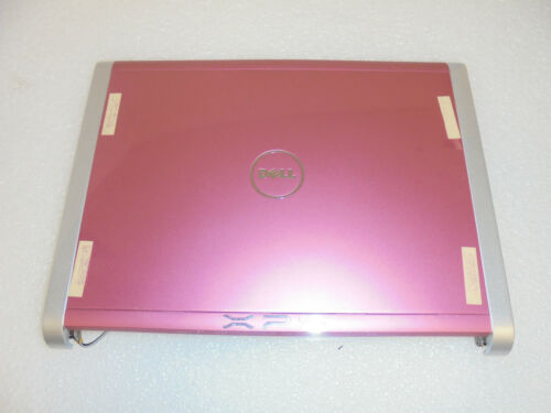 NEW GENUINE DELL XPS M1330 LID TOP COVER PINK  W//Hinges M908F