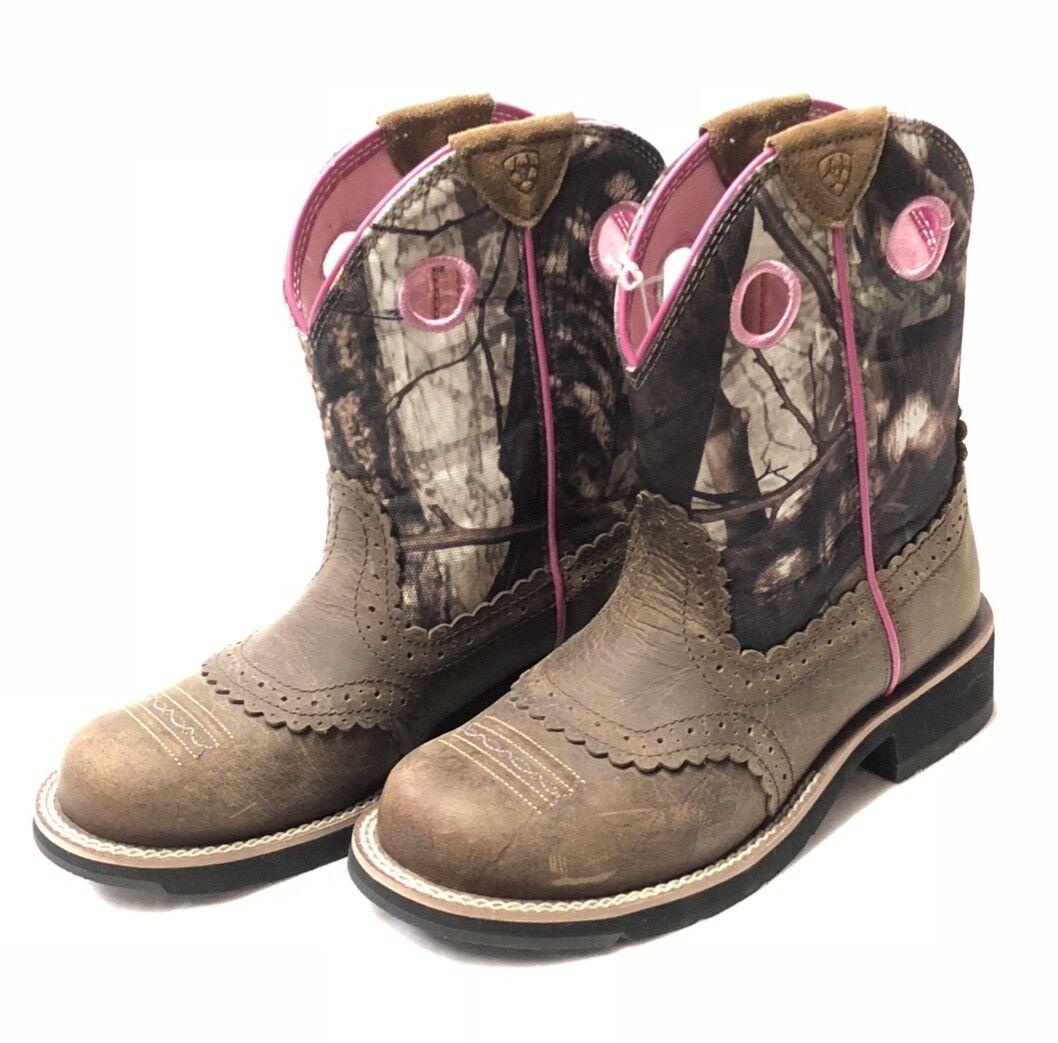 Señoras Señoras Señoras Ariat Grasa Bebé Camo botas, Estilo 10006854  el estilo clásico