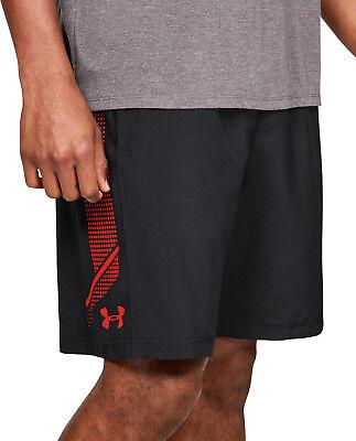 Methodisch Under Armour Woven Graphic Mens Training Shorts - Black Perfekte Verarbeitung