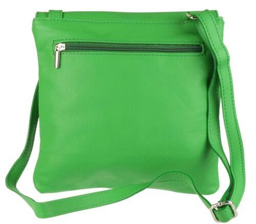 New Women Crossbody Hand Bag Shoulder Tote Genuine Leather Long Strap Travel Bag