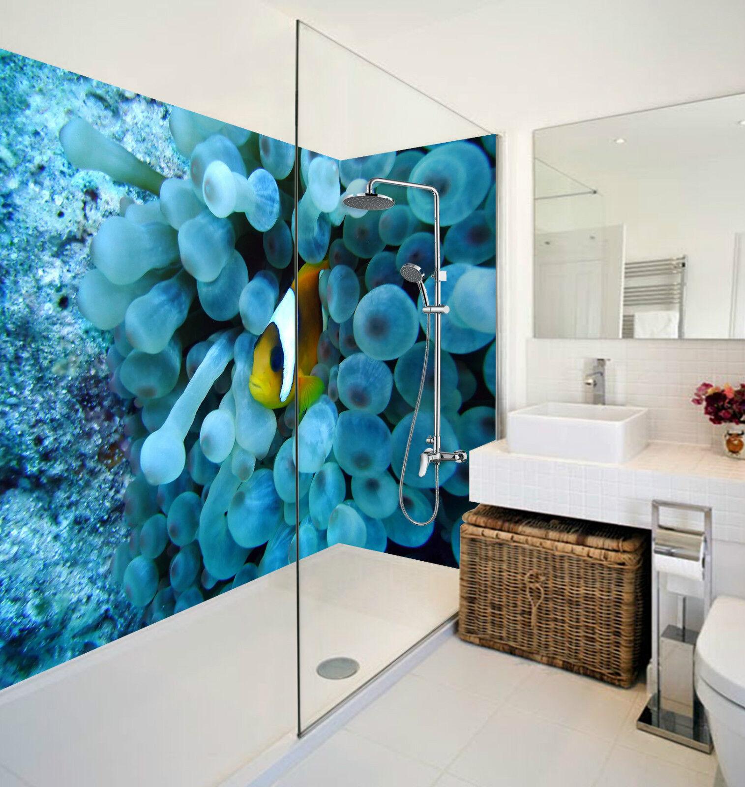 3D Seabed Hidden Fish 2 WallPaper Bathroom Print Decal Wall Deco AJ WALLPAPER CA