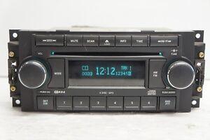 Details about 05-09 Dodge Magnum Jeep OEM Radio FM/AM Aux MP3 Single CD  Player P/N:P05064171AE