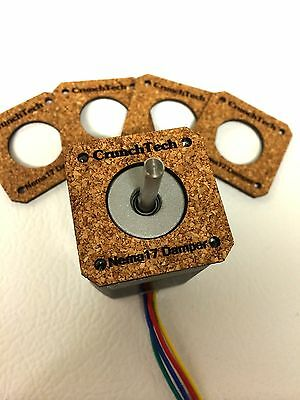 Reprap Prusa Mendel i3 3D Printer NEMA 17 Stepper Motor Damper / Isolator Kit