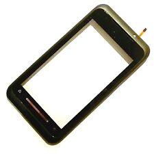100% Genuine Toshiba TG01 front touch screen digitizer black fascia housing lens
