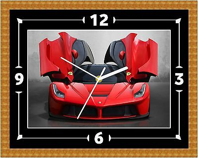 Ferrari 430 Car Wall Clock Gift Present Christmas Birthday (Can Be Personalised)