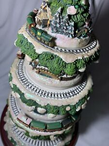 Thomas Kinkade's Wonderland Express Christmas Tree Train ...