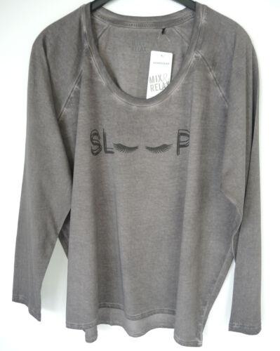 Schiesser Damen Shirt Pyjama Oberteil Mix /& Relax  1//1 Arm Gr.34-44 NEU 158542