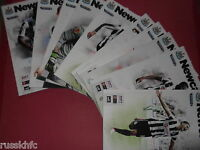 2012/13 NEWCASTLE HOME PROGRAMMES CHOOSE FROM