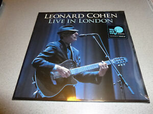 Leonard-Cohen-Live-In-London-3LP-180g-Vinyl-Neu-amp-OVP-incl-DLC