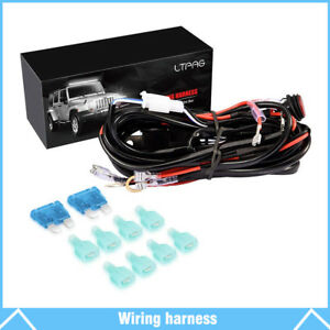 [QNCB_7524]  3M Universal 4 lead LED Light Bar Wiring Harness Kit with Fuse ON / OFF  Switch | eBay | Led Light Bar Wiring Harness And Switch Kit |  | eBay