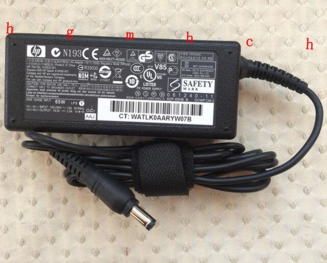 Original OEM HP 2310ei WT429AA,WT429AAR LCD Monitor 619556-001 65W AC/DC Adapter