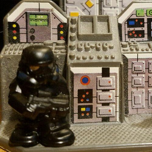 Star Wars Micro FORCE SERIES 7 shadowtrooper SHADOW STORMTROOPER figure