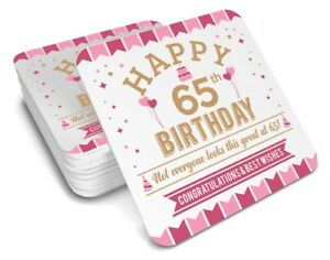 Image Is Loading 65th Birthday 1953 Happy Gift Present Idea Women