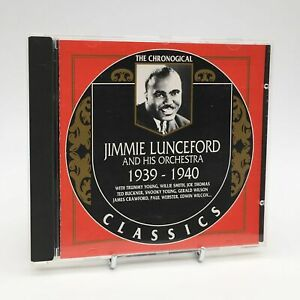 JIMMIE-LUNCEFORD-AND-HIS-ORCHESTRA-1939-1940-Rare-The-Chronogical-CD-Album-VGC