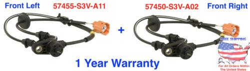 New ABS Wheel Speed Sensor fits HONDA PILOT ACURA MDX FRONT Left /& RIGHT Set