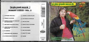 CD-16-TITRES-LES-PLUS-GRANDS-SUCCES-DE-ROBERT-COGOIT-AVEC-DEDICACE-1989-BENELUX