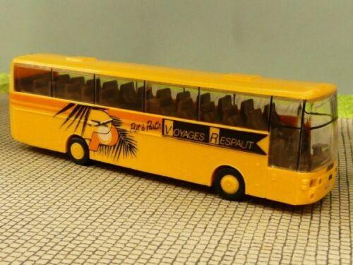 1//87 Van Hool Voyages Respaut Bus Felgen gelb