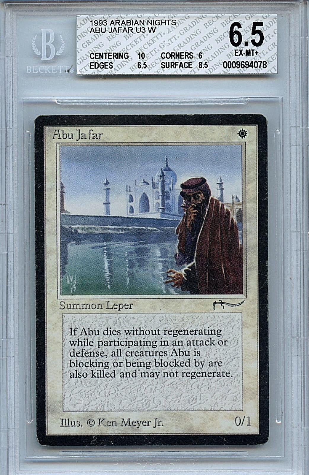 MTG Arabian Nights Abu Jafar BGS 6.5 NM-MT+ Magic WOTC 4078