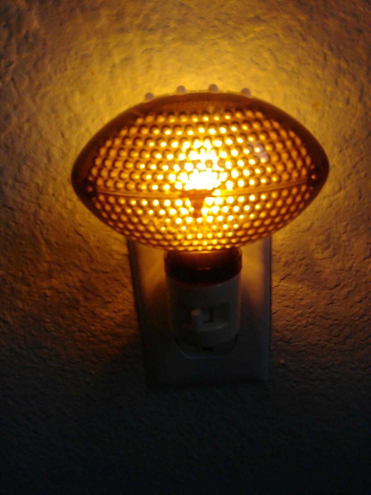 LED Plastic Plug-In Nightlight//Lamp Texas Long Horns Night Light