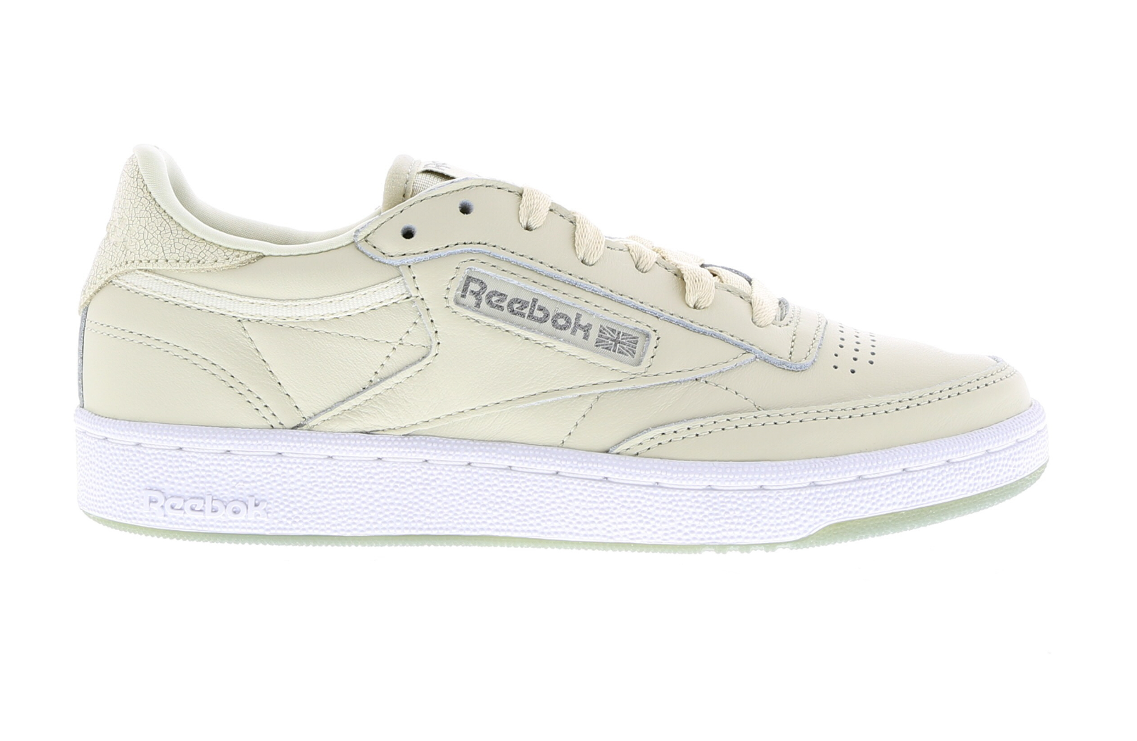 damen REEBOK CLUB C 85 METALS Leather Trainers BD5406