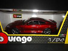 Bburago Jaguar XKR-S Burgundy Red 1/24
