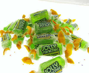 86531504a916 Details about Jolly Rancher Green Apple ~ 8oz hard candy ~ Half Pound Candy