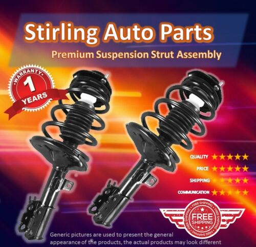 1995 1996 For Toyota Camry Rear Complete Strut /& Spring Assembly Pair