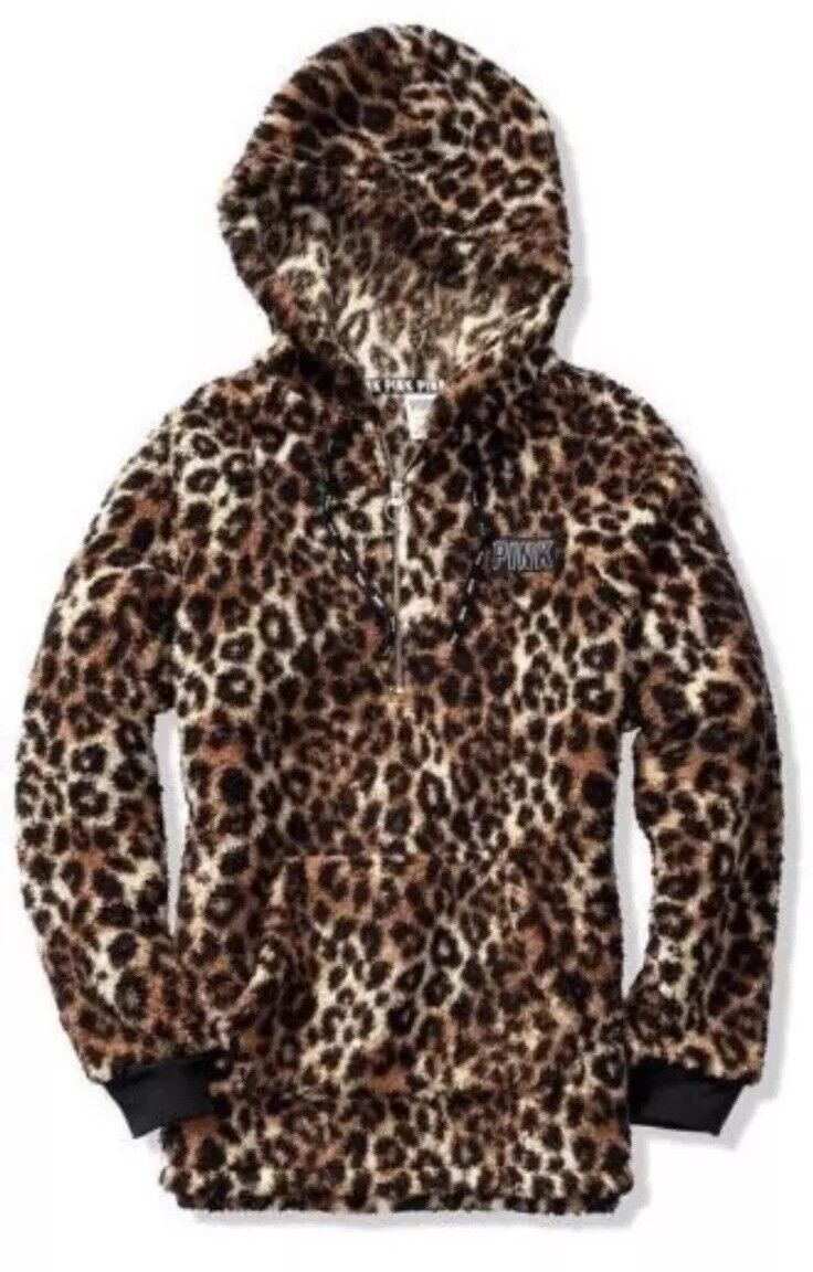 NWT VS PINK Sold Out Out Out Sherpa Hoodie Medium d7bb45