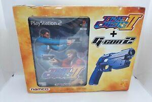 Playstation 2 PS2 Time crisis 2 + Namco G-con 2 pistola Controlador Nuevo Sellado En Caja