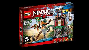 LEGO Ninjago Skybound  Tiger Widow Island  (70604) NIB 2016 Set