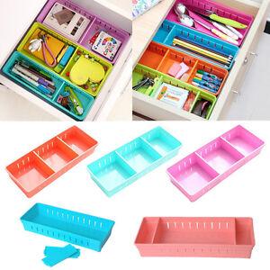 Adjustable-Drawer-Storage-Organizer-Home-Kitchen-Partition-Divider-Cabinet-Box