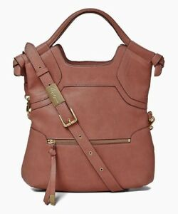 Liberated Foley Essential Leather Corinna Tote Rosewood Vegan schoudertas FJTlKc1
