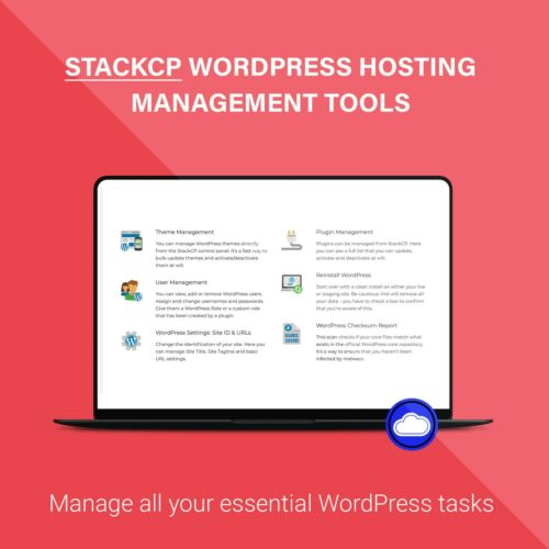 CRM Web Hosting Unlimited CRM Hosting UK Host StackCP X48 Faster DIVI Builder