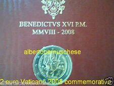 2 euro 2008 folder VATICANO Paolo Vatican Paul Vatikan Paulusjahr Ватикан