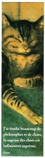 MARQUE-PAGES / SIGNET CHAT de STEINLEN 03 - NEUF PORT OFFERT