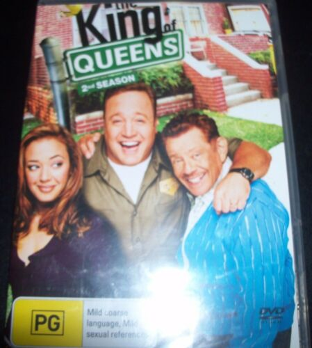 1 of 1 - The King Of Queens 2nd Second Season 2 (Australia Region 4) DVD – New