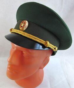 d76ae984f Detalles de Russian Army Officer Visor Hat Cap Badge - 60cm L/XL - New  Uniform Top Quality