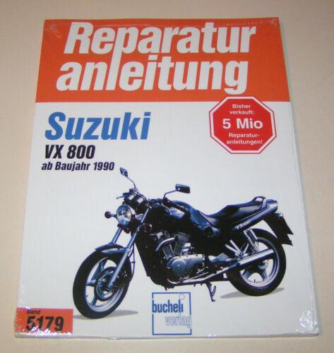 1 von 1 - Reparaturanleitung Suzuki VX 800 - ab Baujahr 1990!