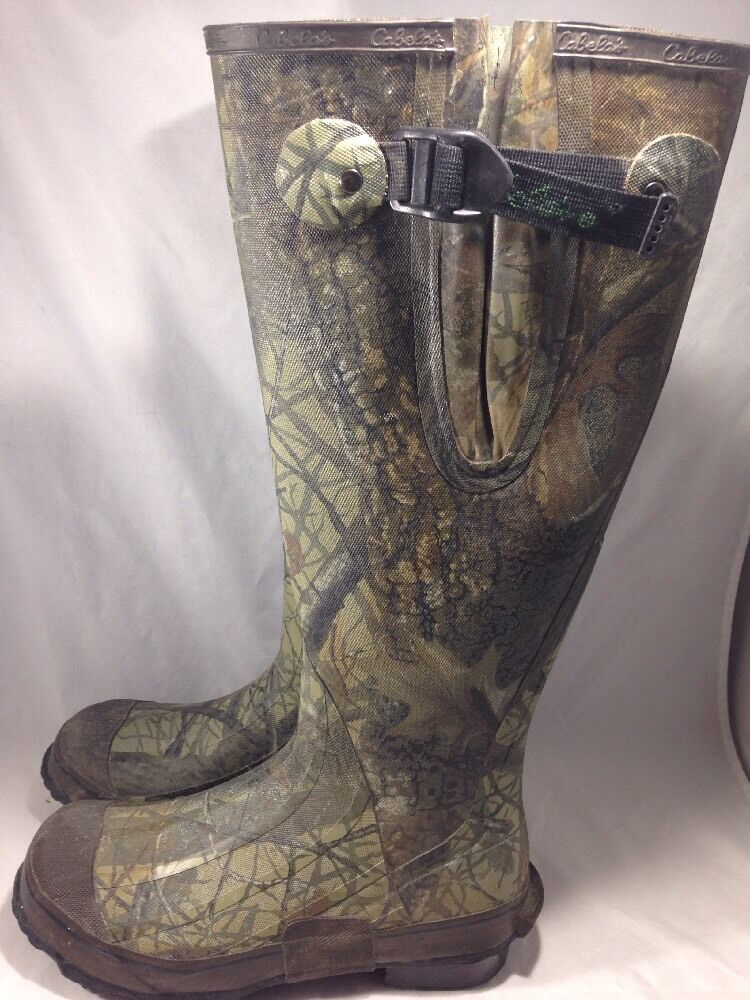 Cabela's Realtree AP  Uninsulated Tall Rubber Boots Size 8  new exclusive high-end