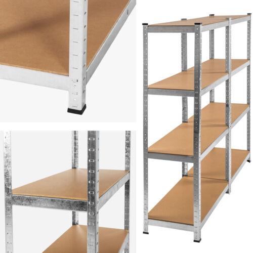 Étagère 640kg charge lourde metallique de rangement objets atelier 160x160x40