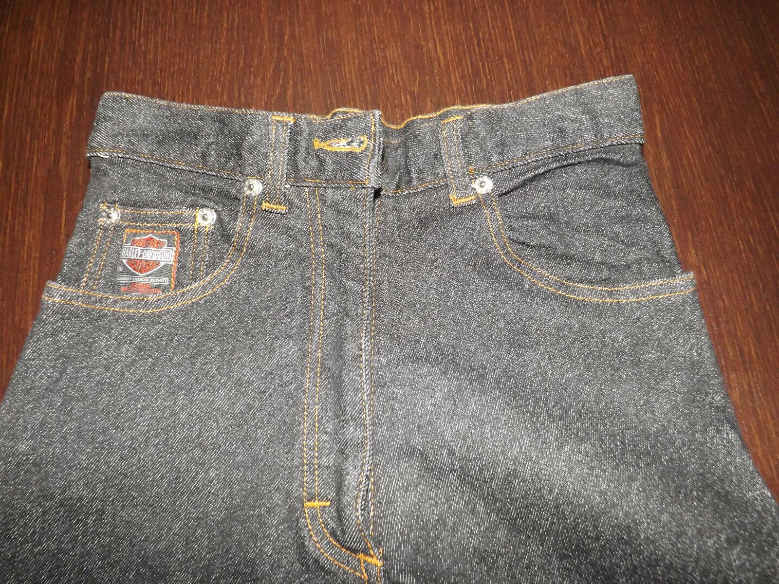 Jeans donna HARLEY DAVIDSON nuovi, vita cm 31