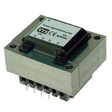 PCB Mains Transformer 120/240V 6VA 0-12V 0-12V Xmer PCB Mount Twin Primary Open