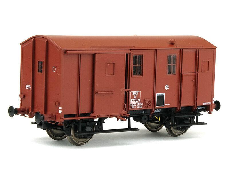 Fourgon UK sans feu de fin convoi SNCF Ep IIIc - HO 1 87 - EPM E.51.02.08