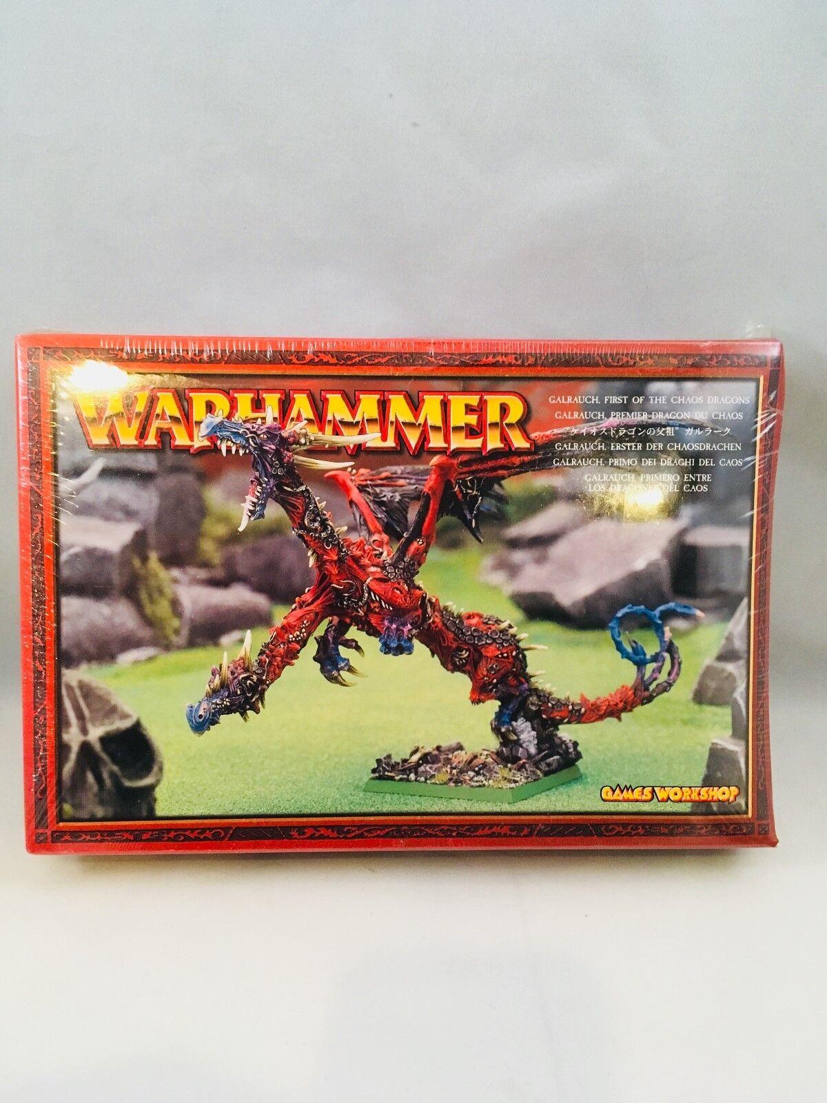 Martillo de guerra galrauch primero el caos Dragones